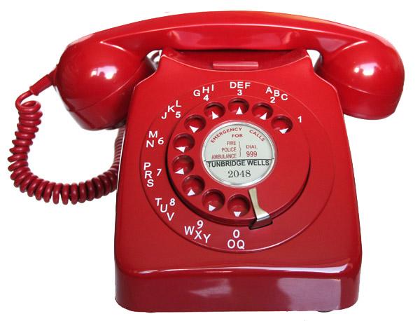 Telefono rosso red telephone - 2 5