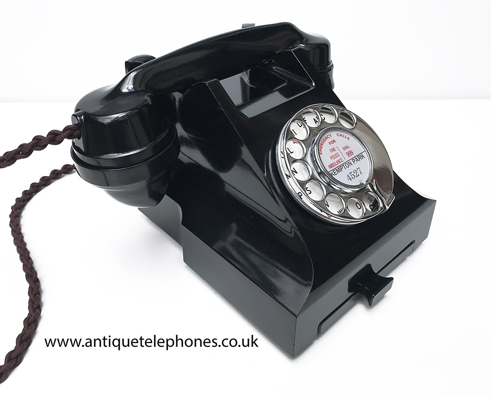A Small Selection Of Antique And Gpo Bakelite Telephones Sold