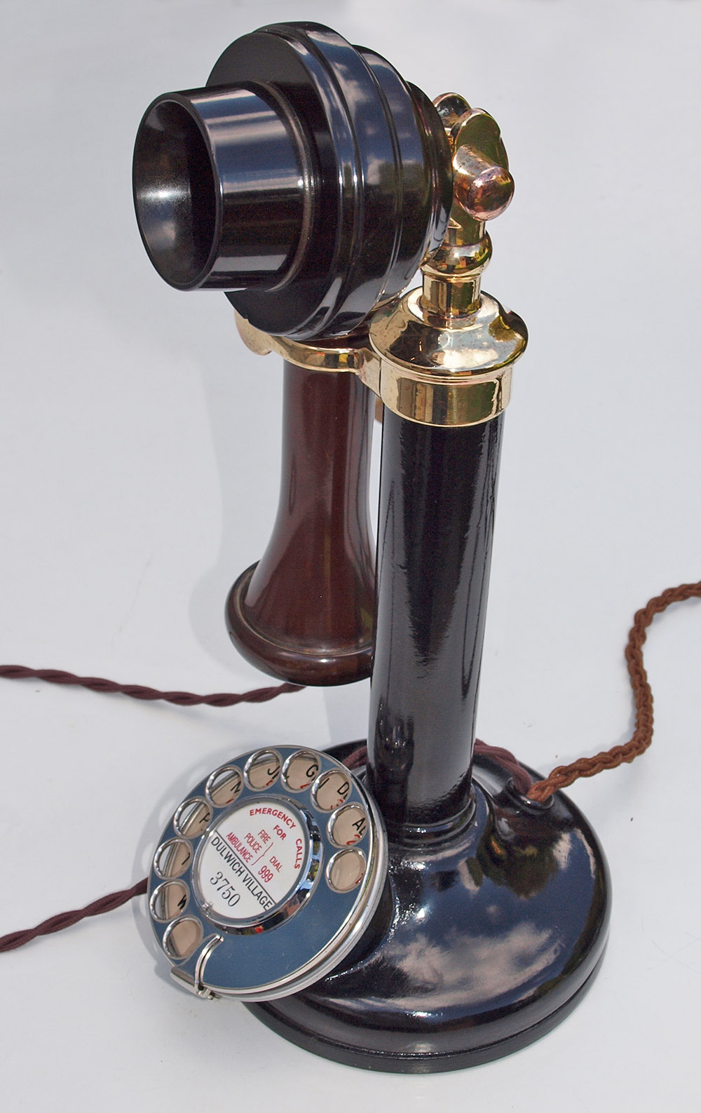 GPO 150 Candlestick telephone dated 1930 | Dulwich Village ...