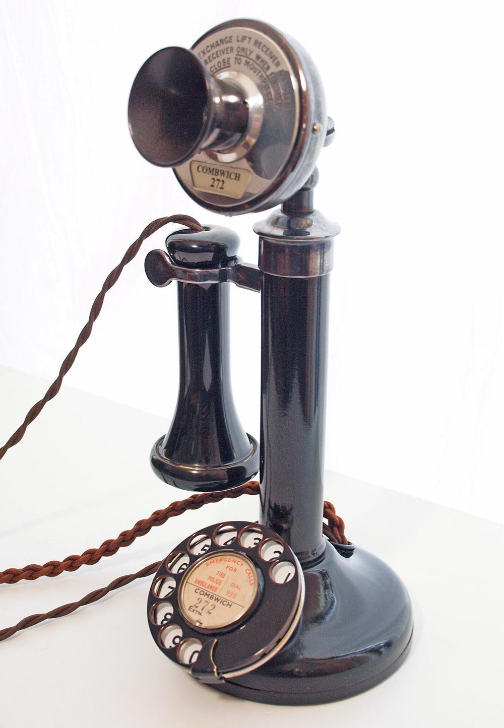 Gpo 150 Candlestick Telephone