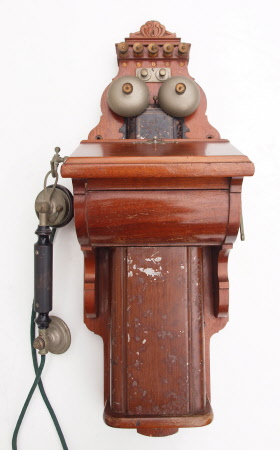 Miniature Ericsson wall telephone